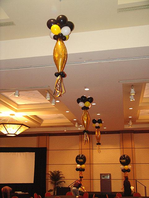 hanging balloon decorations denver