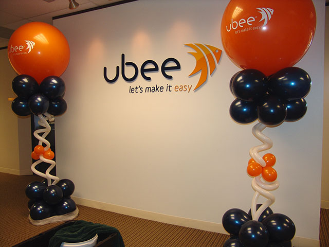 corporate logo balloons denver