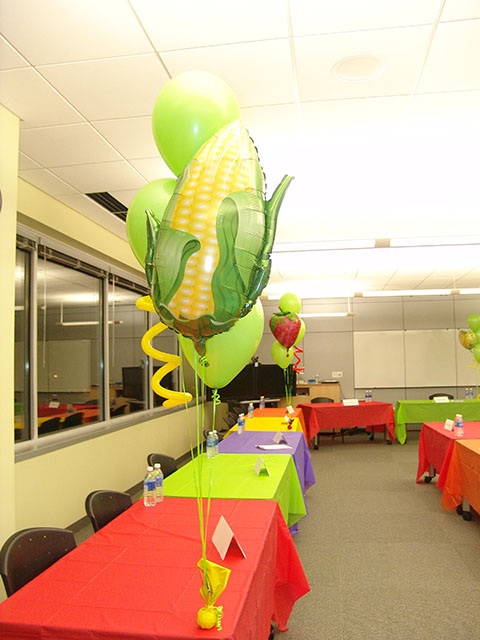 fruit and vegetables balloon bouquets denver