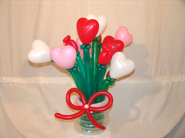 Balloonatics for Balloon decoration for valentines day