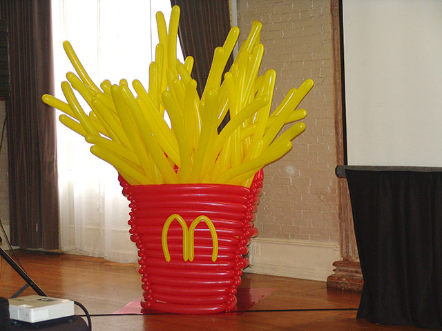 McDonalds Balloon French Fries Colorado