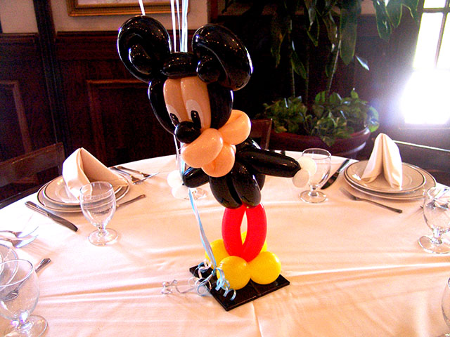 mickey mouse centerpiece balloons denver