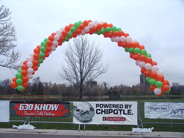Balloon Arch Spiral