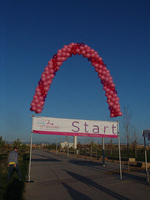 denver balloon arch