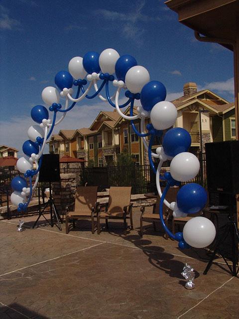loop to loop balloon arch denver