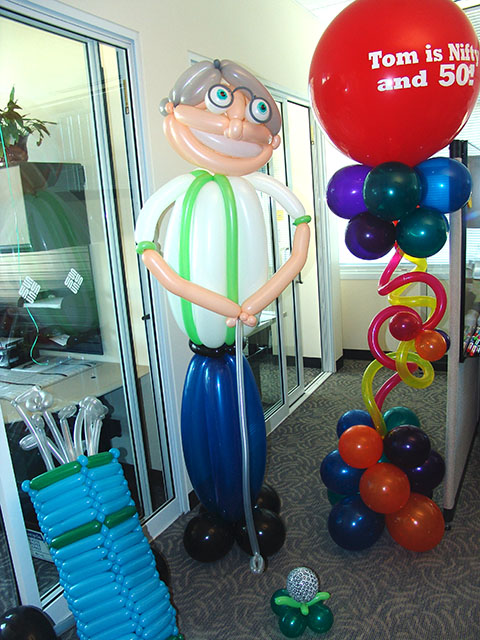 Tom is nifty balloons delivery denver