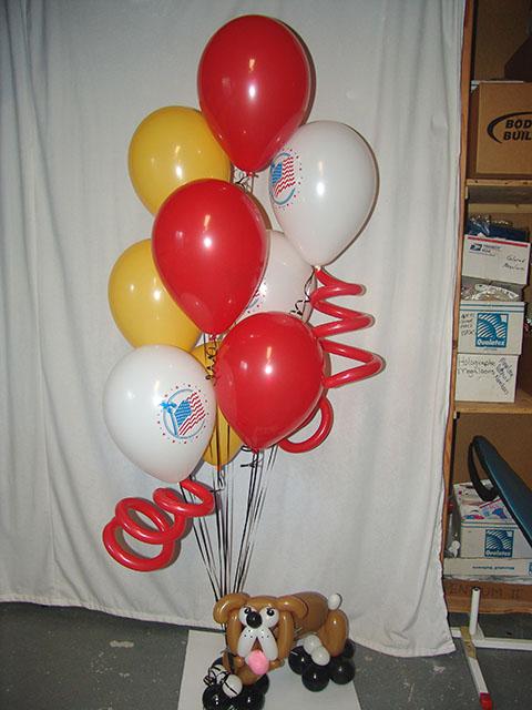 semper fi marines balloons delivery bulldog patriotic