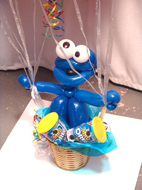 custom cookie monster balloon deliveries denver