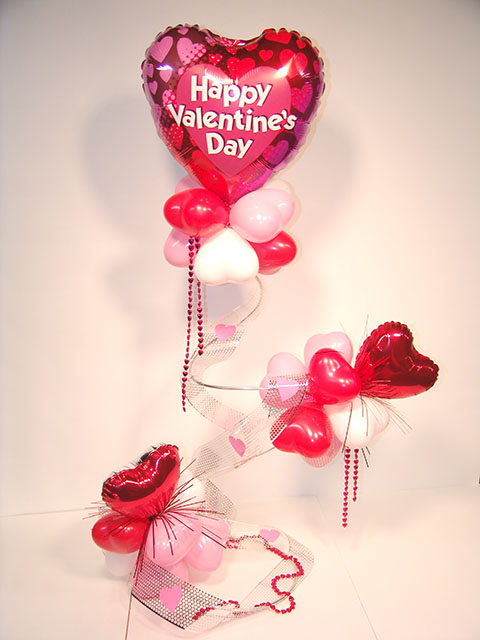 Valentines Day Balloon Sculpture Denver