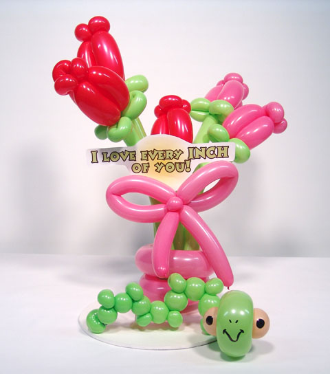 special love flower balloons valentines day delivery denver
