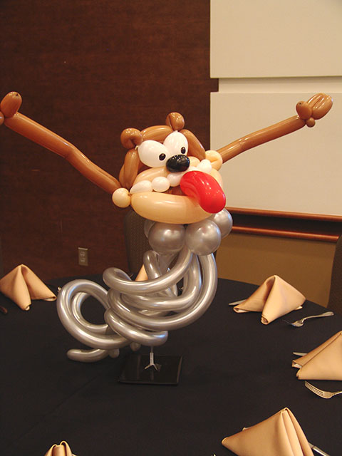 taz balloon centerpeice denver