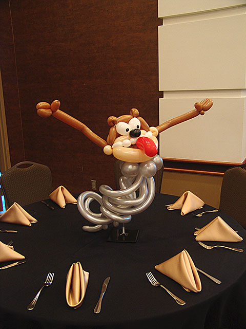 taz balloon centerpieces denver