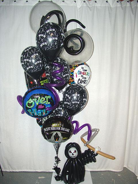 custom grim reaper balloon delivery denver