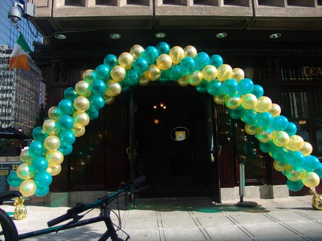 CSU balloon arch downtown denver