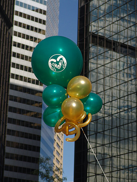 CSU balloon kite downtown denver
