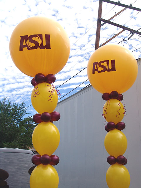 college fun and funky balloon columns denver