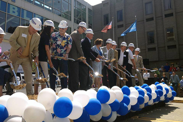 Craig Hospital Ground Breaking Balloon