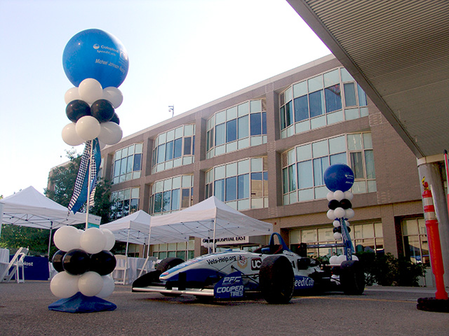 Craig Hospital Racing Balloons Denver