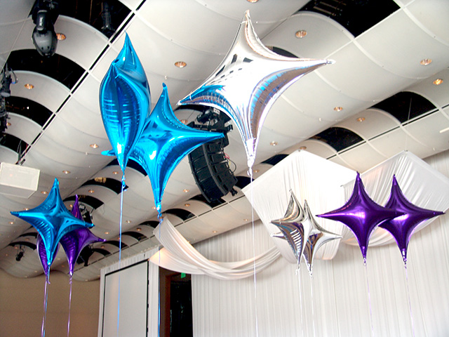balloon decoration seawell ballroom