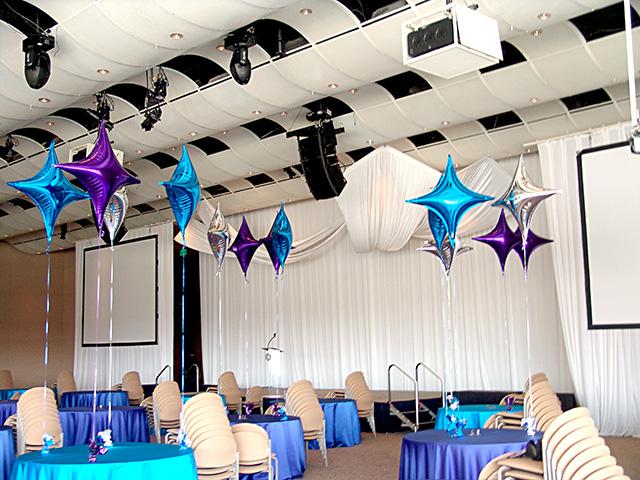 balloon decorations seawell ballroom