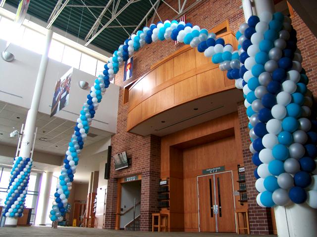 balloon pillars